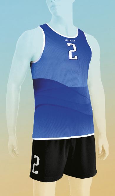 Strój do siatkówki plażowej Colo Grit - SUBLIMACYJNY