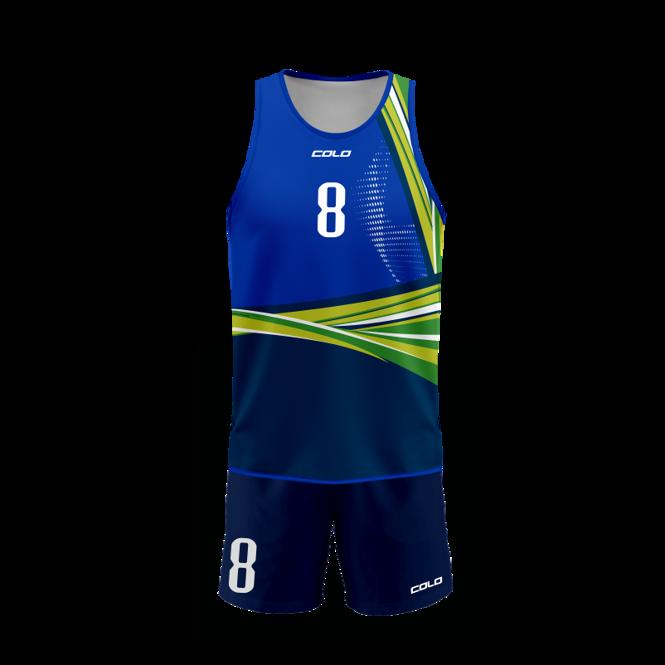 Strój do siatkówki plażowej Colo Joy - SUBLIMACYJNY