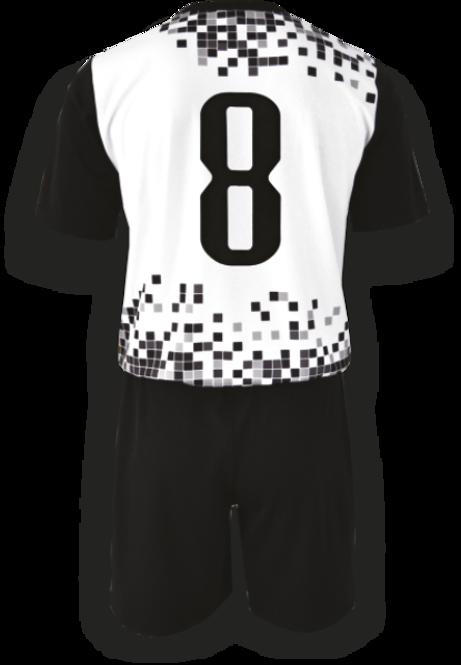 Strój piłkarski Colo Pixel - SUBLIMACYJNY