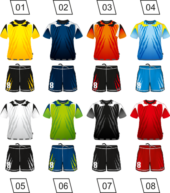 Strój piłkarski Colo Puma - SUBLIMACYJNY